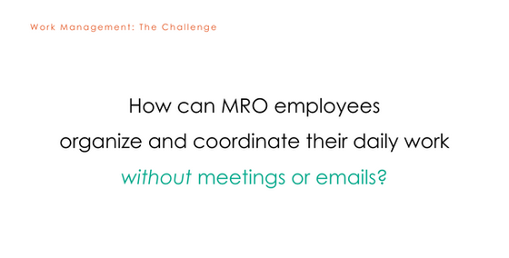 Work Management Challenge Statement