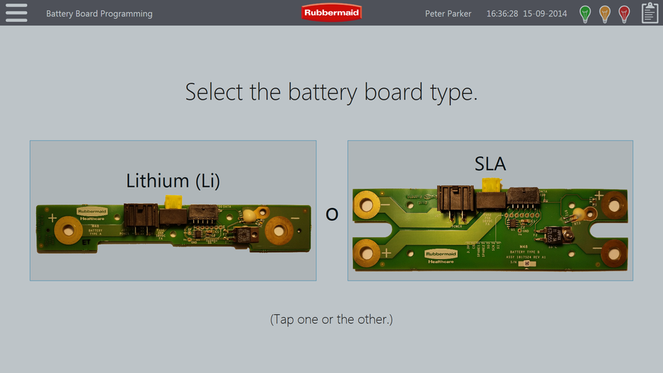 Battery Board Programming Station