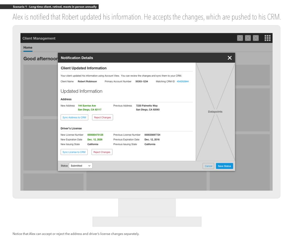 Advisor Portal: Client Update Notification