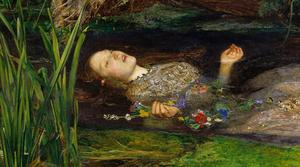 Painting: Ophelia by British artist Sir John Everett Millais
