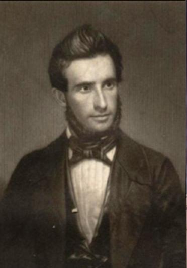 Photo: Andrew Jackson Davis in 1847