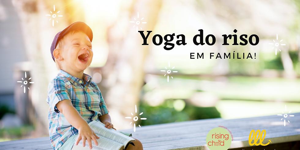 Yoga do Riso em família!