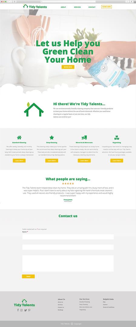 Web Design Rebrand