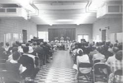 Early Faith Lutheran service.
