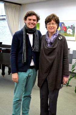 With Veda Kaplinsky