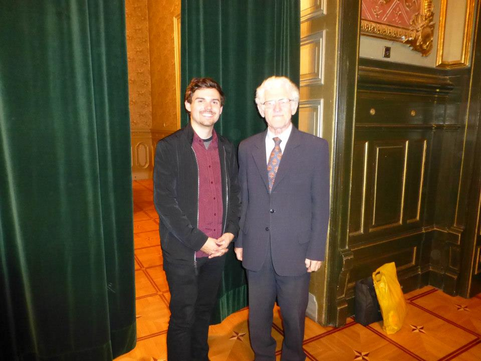 My teacher in Katowice,
