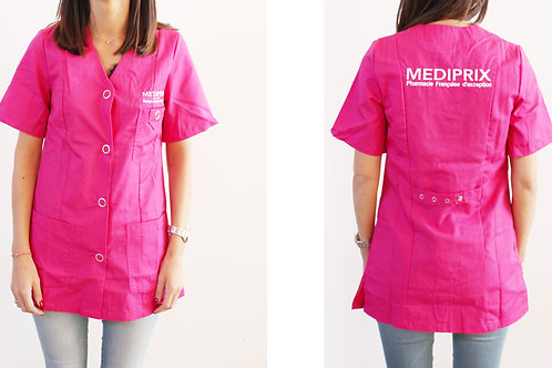 MEDIPRIX 1 TUNIQUE ROSE FEMME COUZON