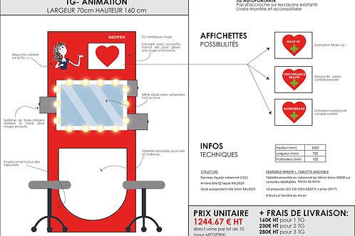 TG ANIMATION 1244.67€ HT+ FRAIS DE LIVRAISON