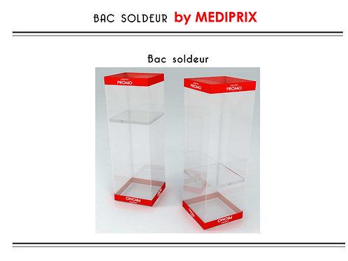 MEDIPRIX 1 bac soldeur