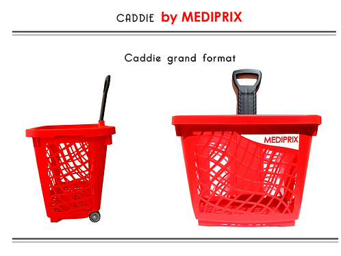 MEDIPRIX chariot lot de 5