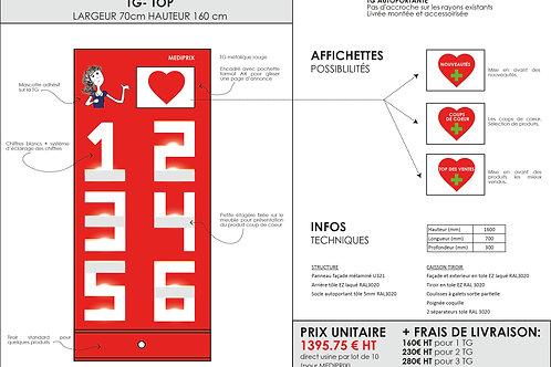 1 TG - TOP 1395.75€ HT + FRAIS DE LIVRAISON
