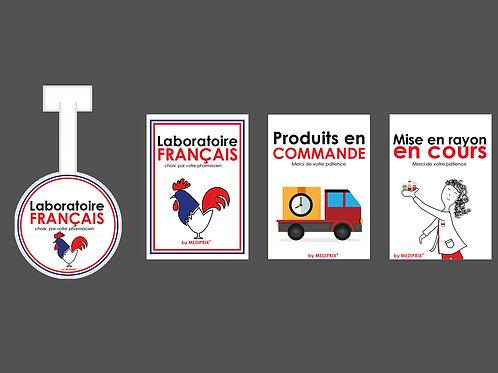 MEDIPRIX KIT Stop rayon + affichettes
