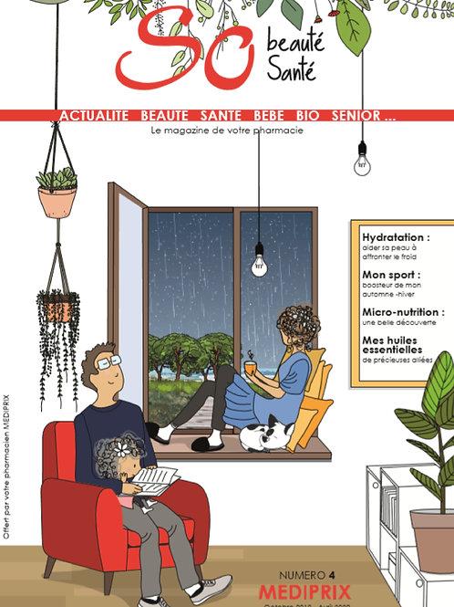 LOT DE 70 MAGAZINES SO BEAUTE SANTE by MEDIPRIX