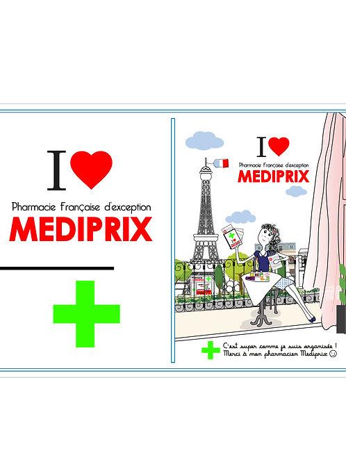 MEDIPRIX GARDE ORDONNANCE LOT DE 750