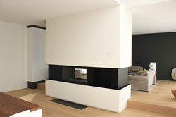 Moderne villa Inbouwhaard (1)
