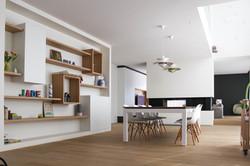 Moderne villa leefruimte (1)