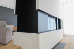 Moderne villa inbouwhaard (2)
