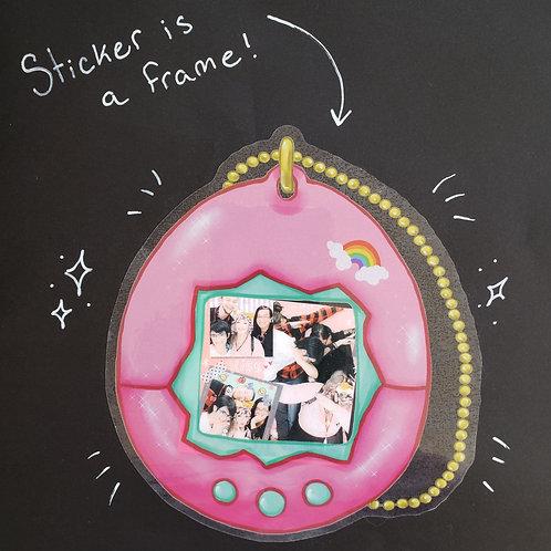 Tamagotchi Sticker Frame