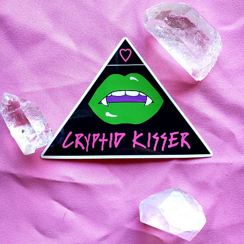 Cyptid Kisser Sticker