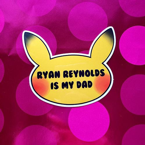 Detective Pikachu Sticker