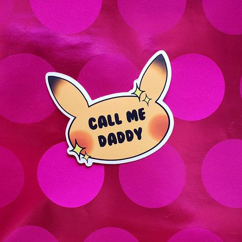 Shiny Detective Pikachu Sticker