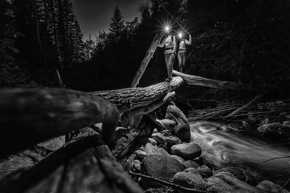 Black Diamond Social Media Producer Katy Dannenberg, Alex Hamlin / East Elk Canyon, CO / Photographer: Andy Mann
