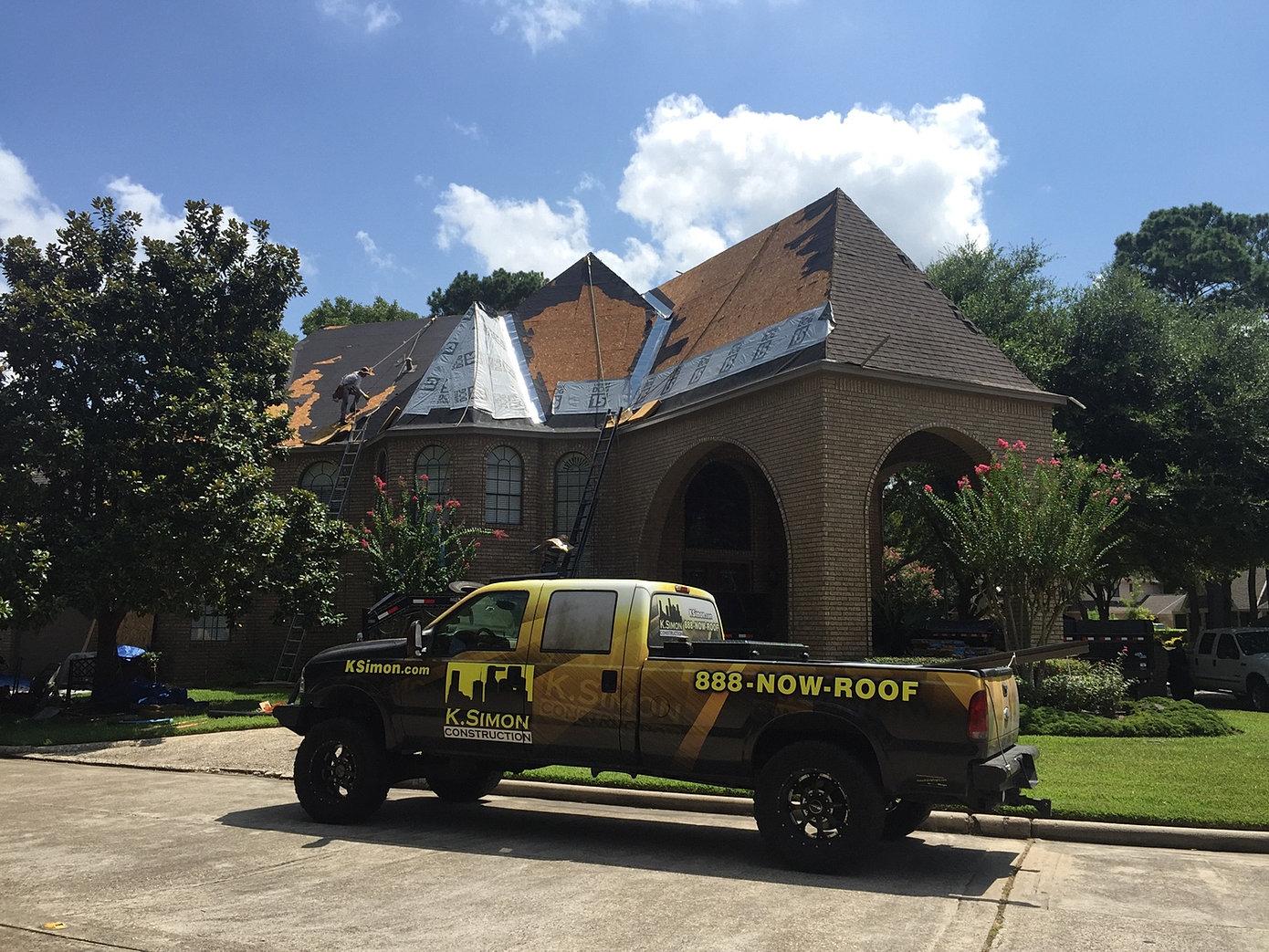 K Simon Construction 888 Now Roof