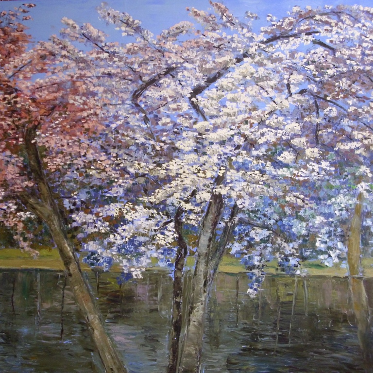 Trees at springtime (fragm.)
