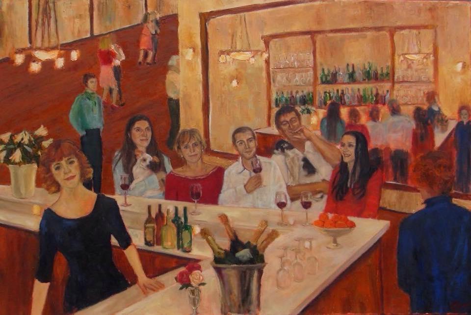 Chez Florian (detail)