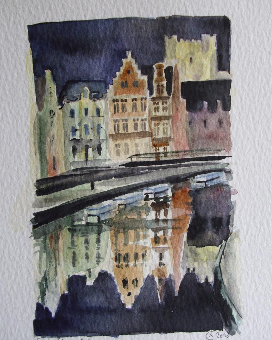 Ghent, Korenlei (fragm.)