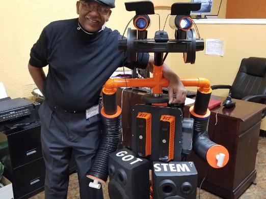 Meet Roger PASA's first robot.