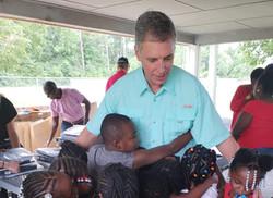 Senator Kent Williams visits PASA