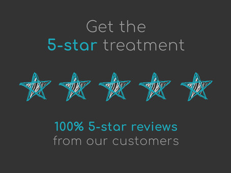 Get the 5-star treatment!