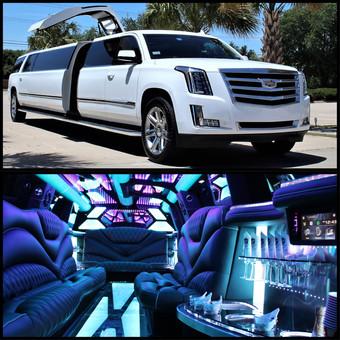 escalade limo, stretch limousine, best limo, suv limo,