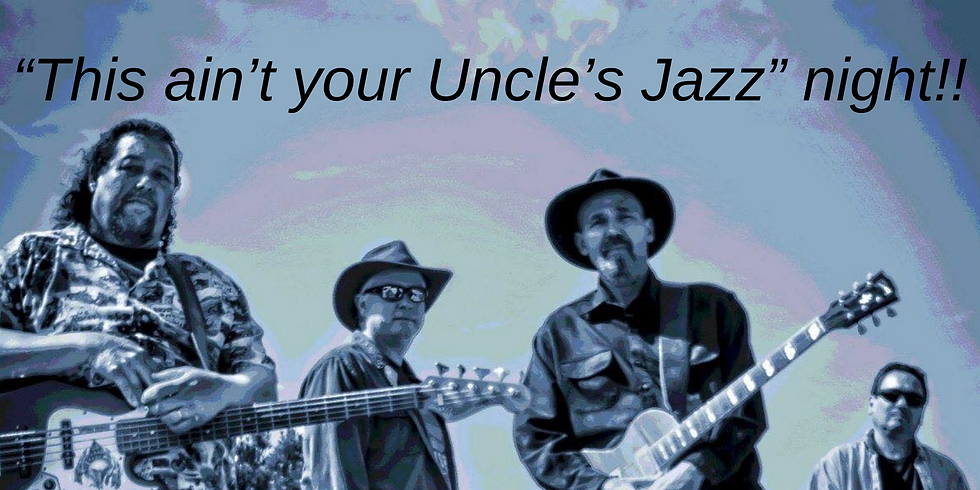 """RSVP for """"This Ain't Your Uncle's Jazz Night!"""""""