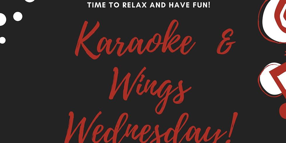 RSVP for Karaoke & Wings Wednesday (1)