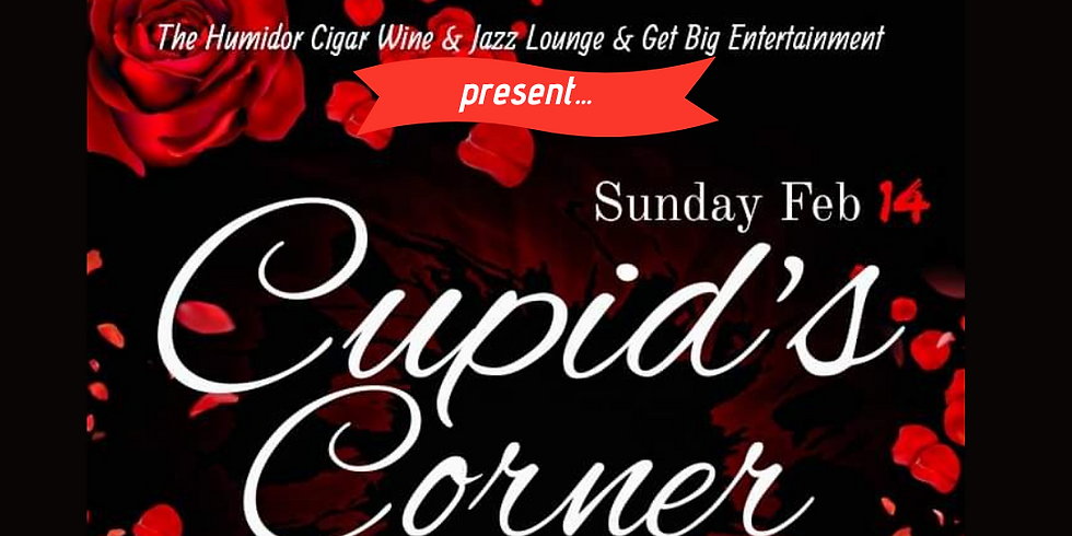 Valentine's Day Sip & Paint and Cupid's Corner Sunday February 14