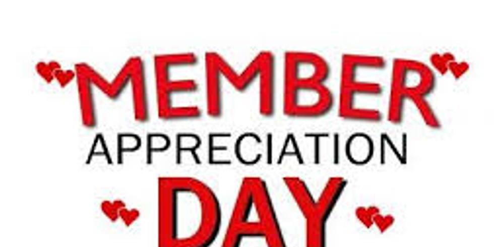 "Member Appreciation Night! FREE ""Beer, Brats, and Bog!"""