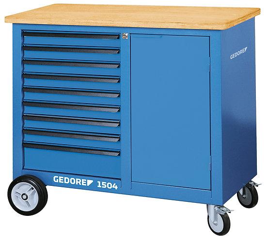 GEDORE Rollwerkbank mit 9 Schubladen 1504 0810