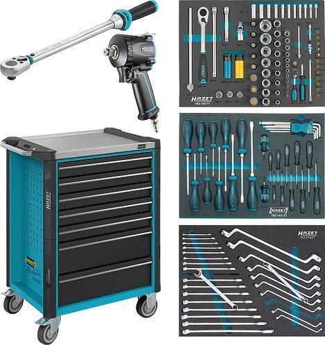 HAZET Werkstattwagen Assistent 179NX-7/137 Anzahl Werkzeuge: 137