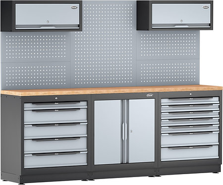VIGOR Schrankwand-System V6000-3P2XL