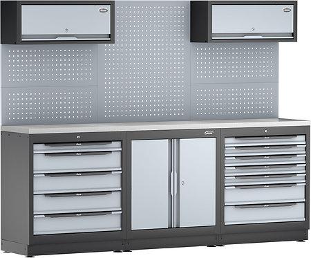 VIGOR Schrankwand-System V6000-3P2XL-X