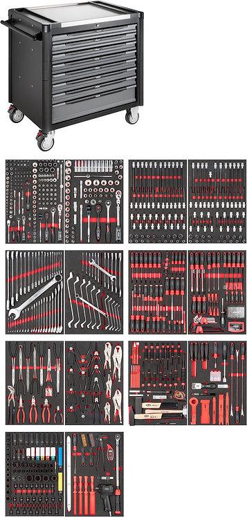 VIGOR Werkstattwagen 1000 XD V4481-XD/775 Anzahl Werkzeuge: 775