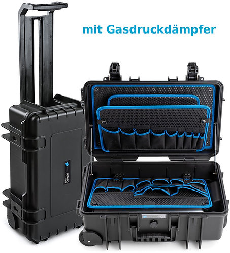 B&W tough.case Jumbo 6600 – der extrem robuste Werkzeugkoffer 117.20/P-G