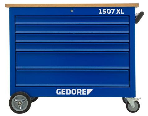 GEDORE Rollwerkbank XL mit extra breite 6 Schubladen 1200 mm 1507 XL 40200