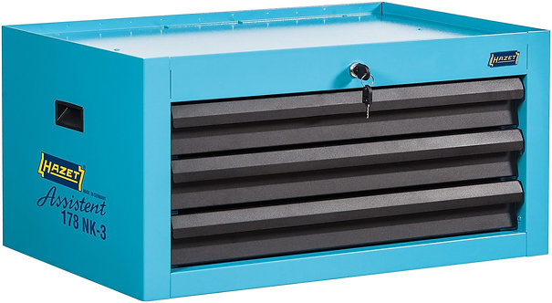 HAZET Aufsatzkoffer mit 3 Schubladen für 178N-7, 178NK-3
