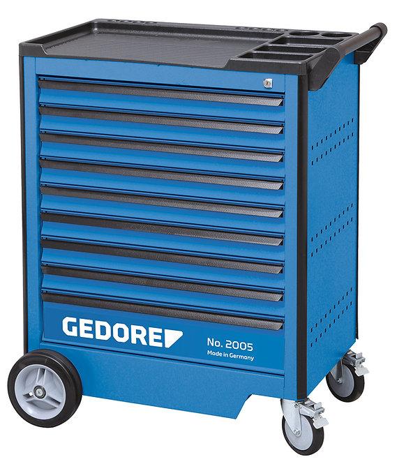 GEDORE Werkzeugwagen mit 9 Schubladen 2005 0810