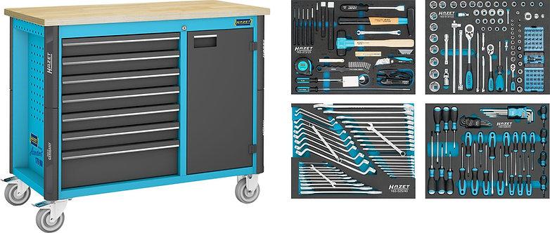 HAZET Fahrbare Werkbank 179NW-7/230 Anzahl Werkzeuge: 230