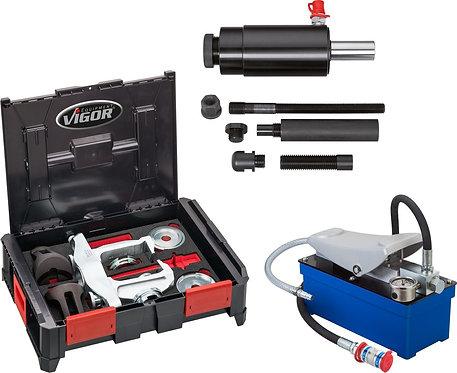 VIGOR Multibox V4700-L Hydraulik Kompakt-Radlager Basis Satz V5554-2 28-tlg.