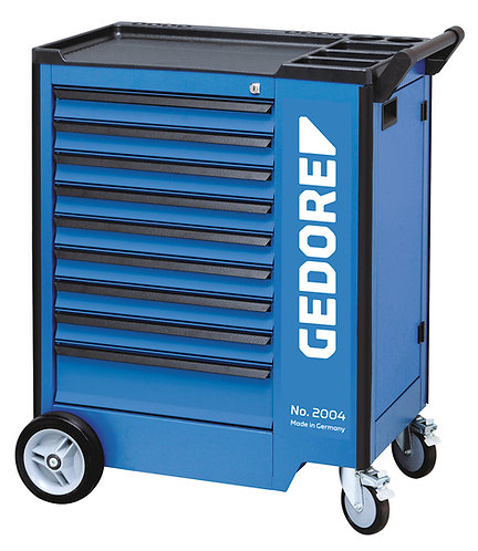 GEDORE Werkzeugwagen mit 9 Schubladen 2004 0810